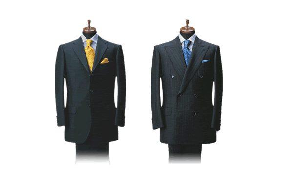 体に完璧にフィットする立体的な服作りである、サルトリアラインを忠実に再現した 典型的な「クラシコイタリア」スーツです。